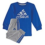 adidas® Size 9M 2-Piece Moto Shirt and Pant Set in Royal