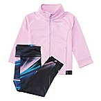 adidas® Size 6M 2-Piece Tricot Jacket and Legging Set in Lilac