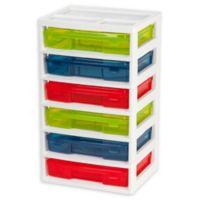 Iris® 6-Case Multicolor Activity Chest