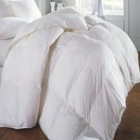 Emily Madison Allegra Premium Down Summer King Comforter in White