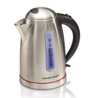 Hamilton Beach® 1.7-Liter Stainless Steel Electric Kettle