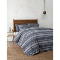 UGG® Bayside Reversible King Duvet Cover in Navy