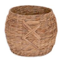 Household Essentials® X-Weave Round Wicker Floor Basket
