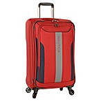 Nautica® Gennaker 24-Inch Expandable Spinner Suitcase in Red/Navy
