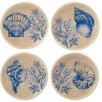 Certified International Seaside Canape Plates (Set of 4)