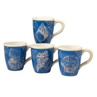 Certified International Seaside Mugs (Set of 4)