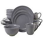 Certified International Orbit 16-Piece Dinnerware Set in Grey