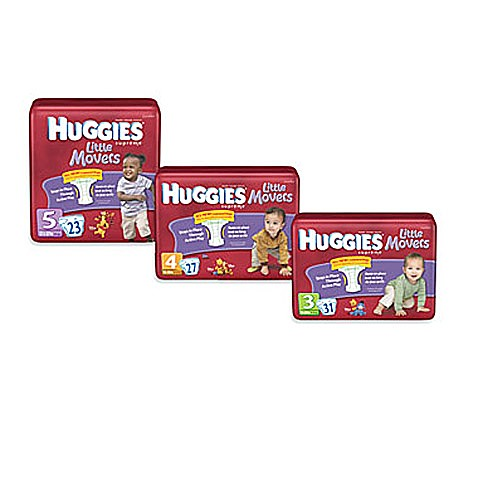 Huggies® Supreme Little Movers Jumbo Pack Stage 3 31-Count Disposable Diapers