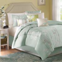 Athena 7-Piece King Jacquard Comforter Set