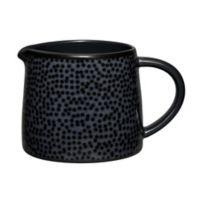Noritake® Black on Black Snow Creamer