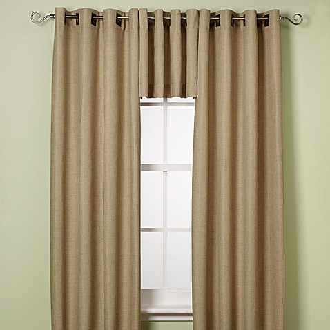 Reina Window Curtain Panels and Valances - Bed Bath & Beyond