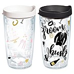 Tervis® Bride/Groom Cheers 2-Pack 16 oz. Wrap Tumblers with Lids
