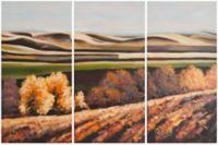 Safavieh Harvest Dreams 18-Inch x 36-Inch Canvas Wall Art (Set of 3)