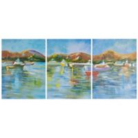 Safavieh Sailors Cove 20-Inch x 27-Inch Acrylic Wall Art (Set of 3)