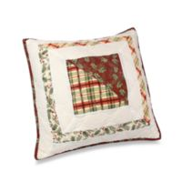 "Lenox® Winter Greetings 18"" Square Throw Pillow"