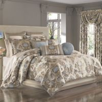 J. Queen New York™ Jordyn Olivia Queen Comforter Set in Taupe