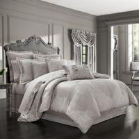 J. Queen New York™ La Scala Queen Comforter Set in Silver