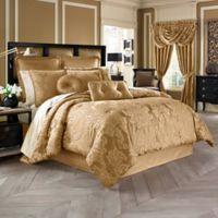 J. Queen New York™ Concord California King Comforter Set in Gold