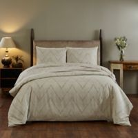 Amity Home Sadie Queen Duvet Cover in Taupe