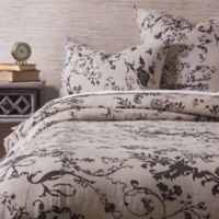 Amity Home Leona Queen Duvet Cover in Brown