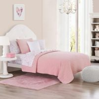 Chloe Full/Queen Quilt Set in Pink