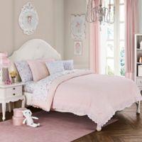 Cloud Company Amelia 2-Piece Twin Comforter Set in Pink