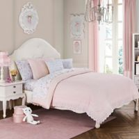 Amelia Full/Queen Duvet Cover Set in Pink