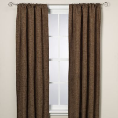 Buy Brown and Black Curtains from Bed Bath & Beyond