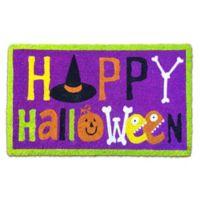 Happy Halloween Door Mat
