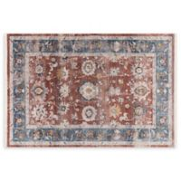 Home Dynamix Rutherford 1'9 x 3' Area Rug in Red/Blue