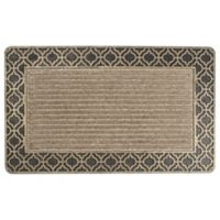 "Entryways Weather Beater Ogee 18"" x 30"" Door Mat in Gold"