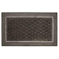 Entryways® Silver and Grey Weather Beater Indoor/Outdoor Door Mat