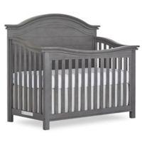 evolur™ Belmar Curved Top 5-in-1 Convertible Crib in Rustic Grey