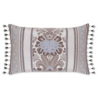 J. Queen New York™ Jordyn Olivia Boudoir Throw Pillow in Taupe
