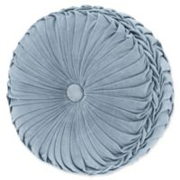 J. Queen New York™ Jordyn Olivia Tufted Round Throw Pillow in Powder Blue