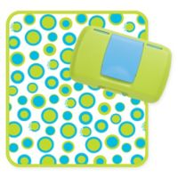 b.box® 2-Piece Diaper Clutch and Changing Pad Set in Retro Circles