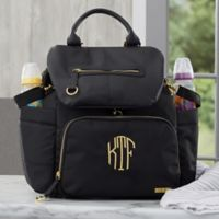 SKIP*HOP® Chelsea Downtown Chic Backpack Diaper Bag in Black