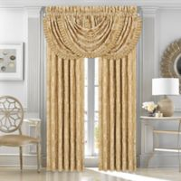J. Queen New York™ Concord 84-Inch Rod Pocket Window Panel Pair in Gold