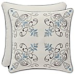J. Queen New York™ Giovani 18-Inch Square Throw Pillow in White