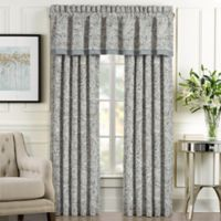 J. Queen New York™ Giovani 84-Inch Rod Pocket Window Curtain Panel Pair in Spa