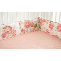 Levtex Baby® Charlotte 4-Piece Crib Bumper Set in Pink