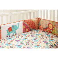 Levtex Baby® Zahara 4-Piece Crib Bumper Set