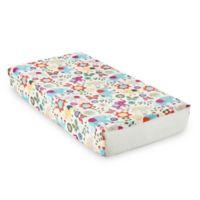 Levtex Baby® Zahara Elephant Print Velour Changing Pad Cover