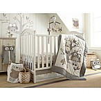Levtex Baby Night Owl 5-Piece Crib Bedding Set in Grey/Taupe