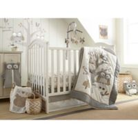 Levtex Baby® Night Owl 5-Piece Crib Bedding Set in Grey/Taupe
