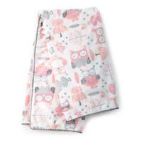 Levtex Baby® Night Owl Plush Blanket in Pink