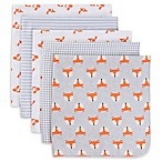 Gerber® 5-Pack Fox Flannel Receiving Blankets