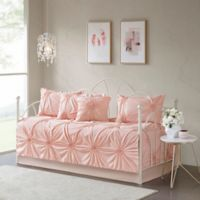 Madison Park Leila Daybed Set in Blush