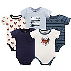 Yoga Sprout Be Clever 0-3M 5-Pack Bodysuit Set