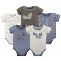 Yoga Sprout Forest 12-18M 5-Pack Bodysuit Set